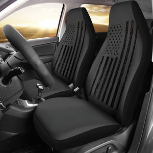 Black Flag Car Seat Covers