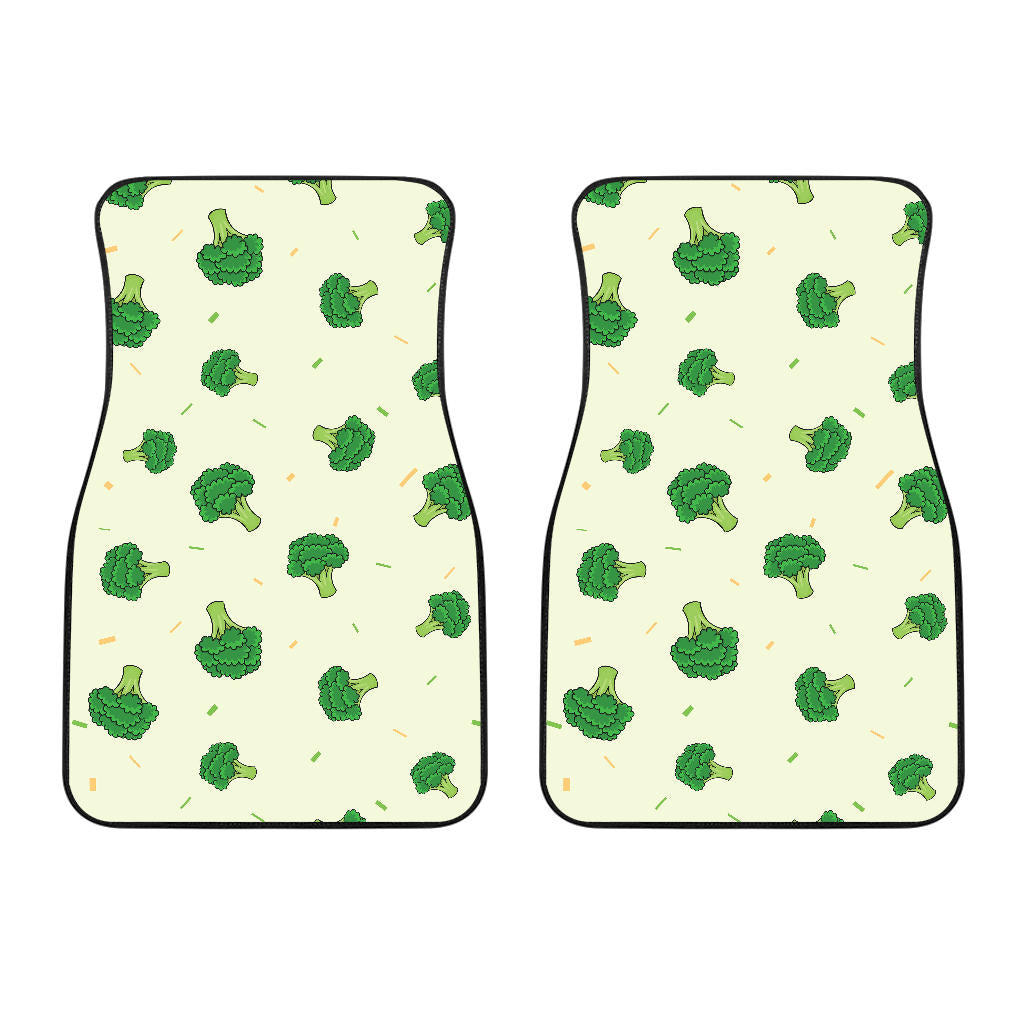 Broccoli Pattern  Front Car Mats