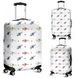 Cute helicopter star pattern Luggage Covers