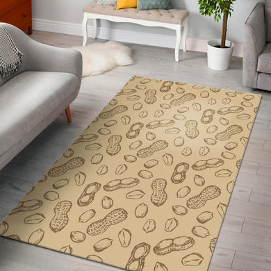 hand drawn peanuts pattern Area Rug