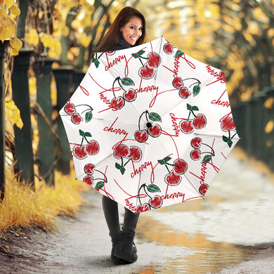 Hand drawn cherry pattern Umbrella
