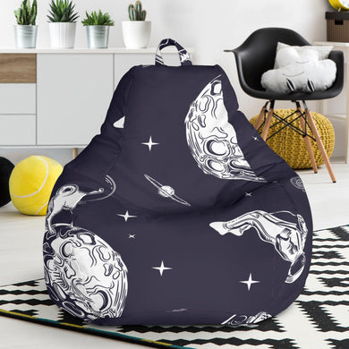 Chihuahua space helmet. astronaut pattern Bean Bag Chair