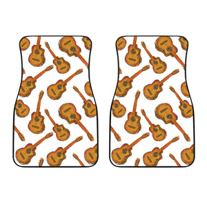 Paint Guitar Pattern Front Car Mats
