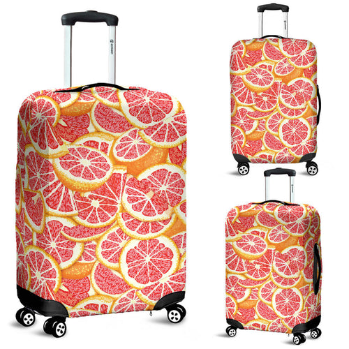 Tropical Grapefruit Pattern Luggage Covers