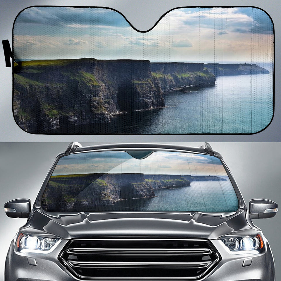 Cliffs Of Moher Car Sun Shade Auto Sun Shade