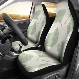 Ginkgo Leaves Pattern Universal Fit Car Seat Covers