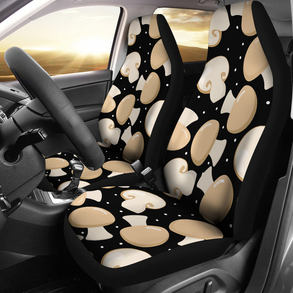Champignon Mushroom Pattern Universal Fit Car Seat Covers