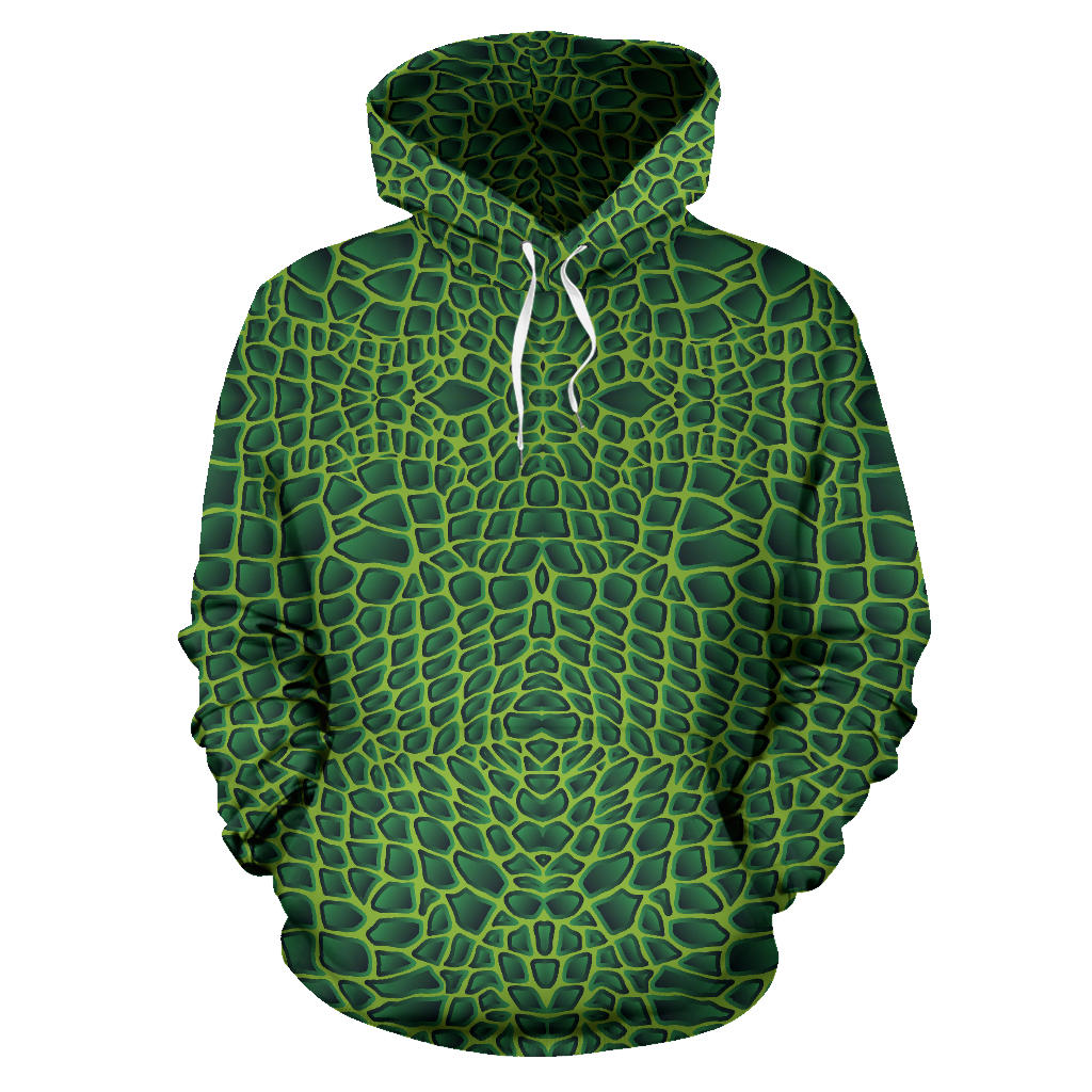 Crocodile leather skin Pullover Hoodie
