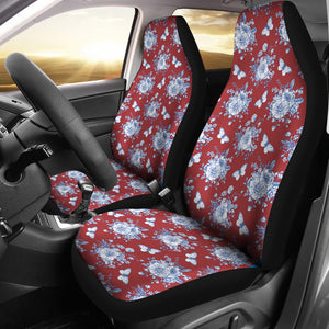 Victorian Red Car Seat Cover