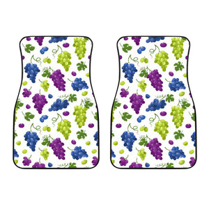 Grape pattern Front Car Mats