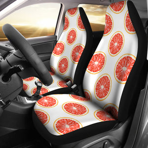 Grapefruit Pattern Universal Fit Car Seat Covers