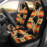 Seven Tribes Tan Thunderbear Car Seat Covers