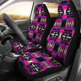 Strips Pink  Car Seat Covers