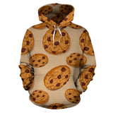 Cookie pattern Men Women Pullover Hoodie