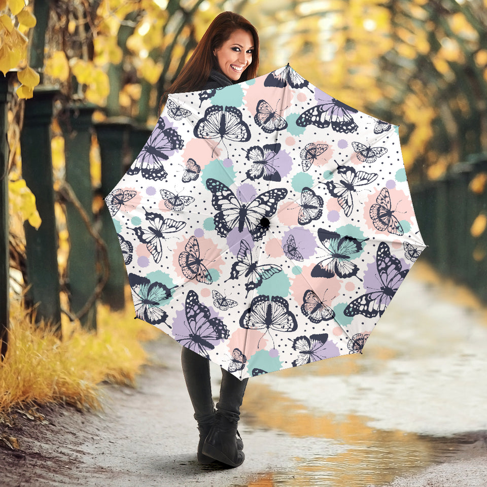 Butterfly pattern Umbrella