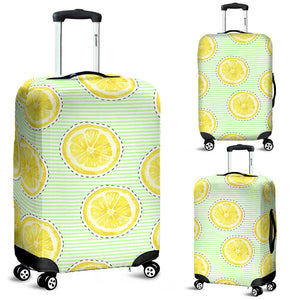 slice of lemon pattern Luggage Covers