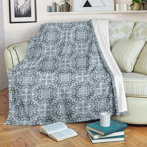 Traditional indian element pattern Premium Blanket
