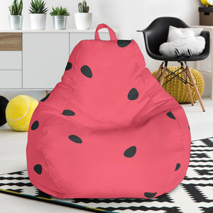 watermelon texture background Bean Bag Chair
