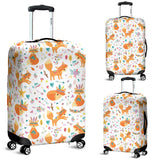 Cute Tribal Fox Pattern Luggage Covers