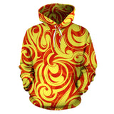 Fire Flame Design Pattern Men Women Pullover Hoodie