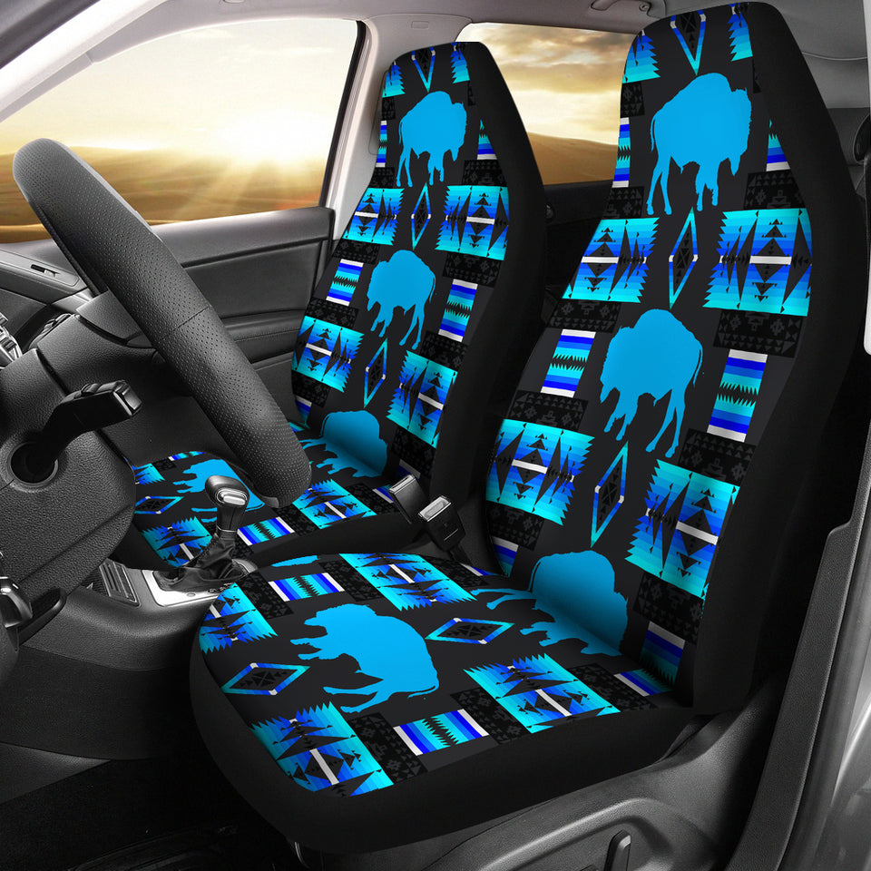 Buffalo Midnight Lake Car Seat Covers