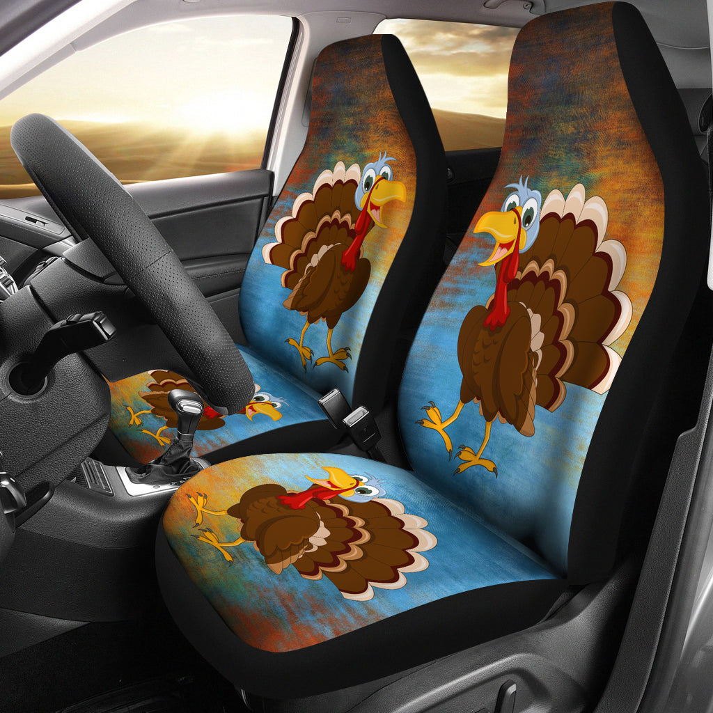 Turkey Lovers Car Seat Covers