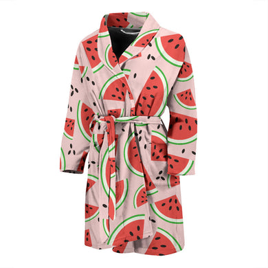 Watermelon Pattern Men'S Bathrobe