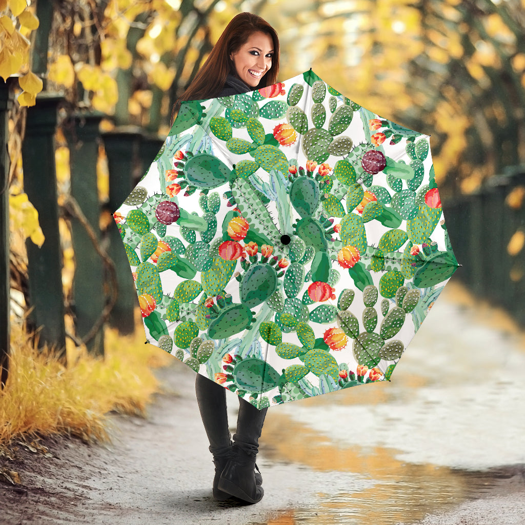 Cactus Design Pattern Copy Umbrella
