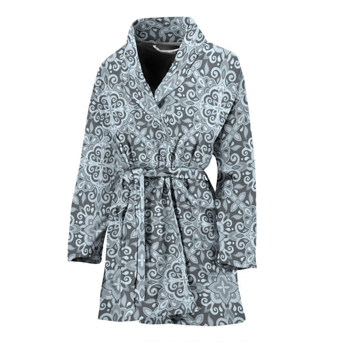Traditional indian element pattern Women's Bathrobe