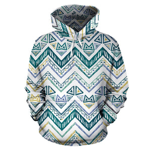 zigzag  chevron paint design pattern Men Women Pullover Hoodie