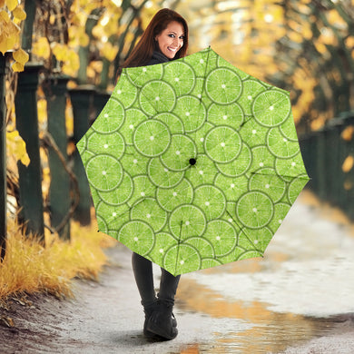 Slices of Lime pattern Umbrella