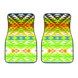 Taos Powwow 30 Front Car Mats (Set Of 2)