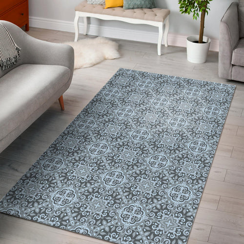 Traditional indian element pattern Area Rug