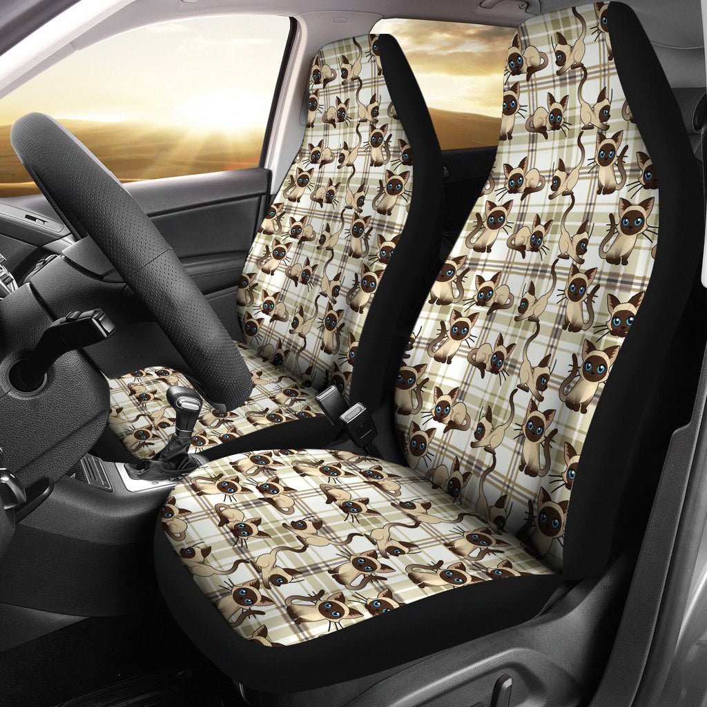 Balinese Cat Car Seat Covers