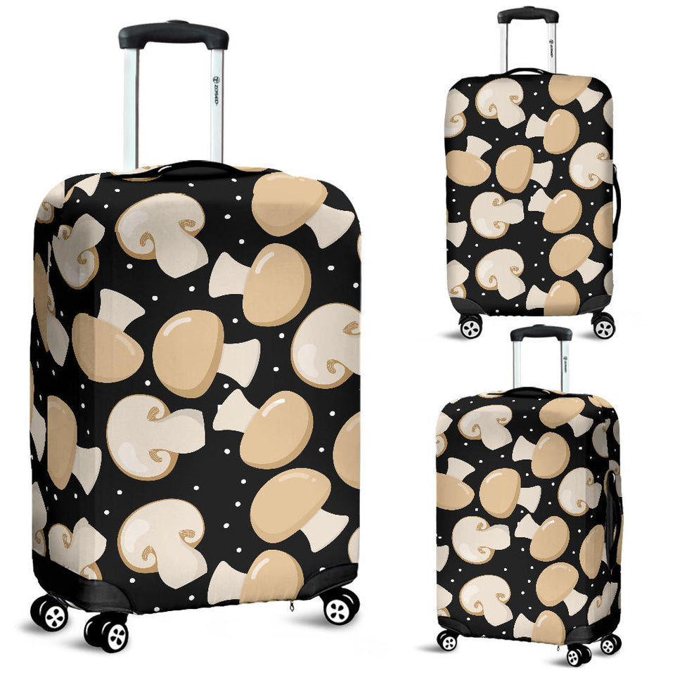 Champignon Mushroom Pattern Luggage Covers