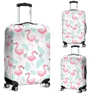 Cute Flamingo Pattern Luggage Covers