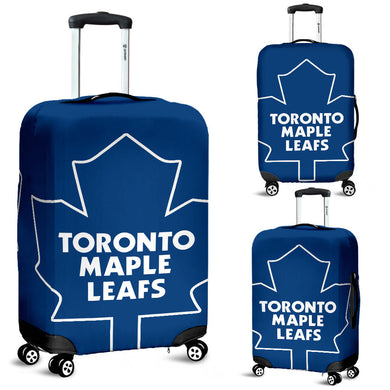 Toronto Maple Leafs Blue Theme Luggage Cover