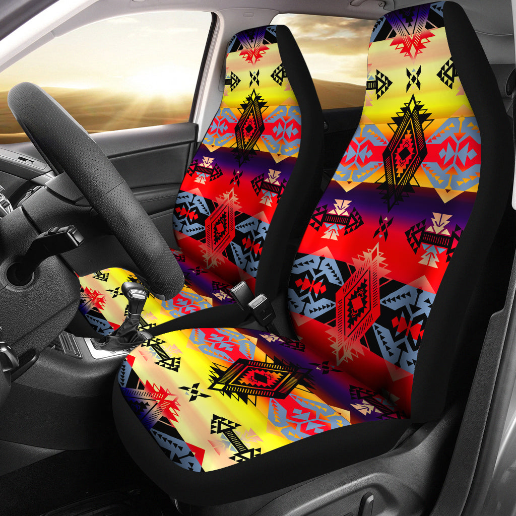 Sovereign Nation Mountain Set Of 2 Car Seat Covers