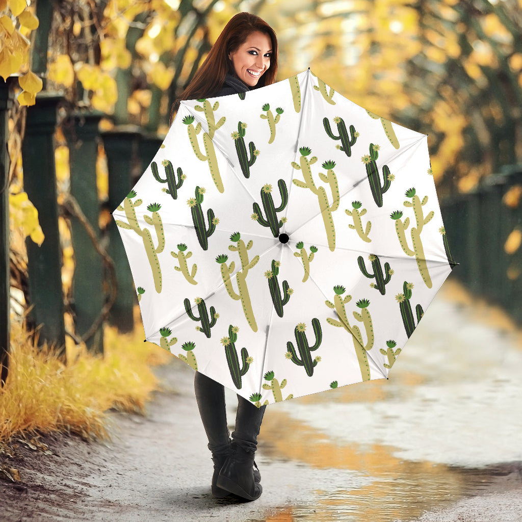 Cute Cactus Pattern Umbrella