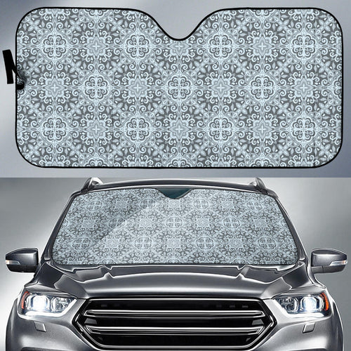 Traditional indian element pattern Car Sun Shade
