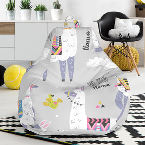 Cute Llama Alpaca pattern Bean Bag Chair
