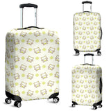Cute cartoon frog baby pattern Luggage Covers