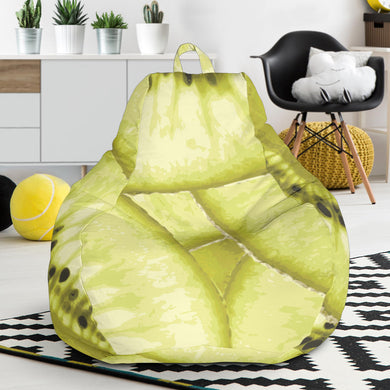 Sliced kiwi pattern Bean Bag Chair