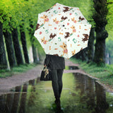Cute Chihuahua Puppie Pattern Umbrella