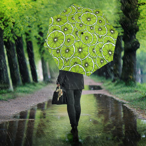 Slices of Lime design pattern Umbrella