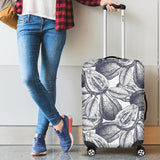 Guava Tropical Hand Drawn Pattern Luggage Covers