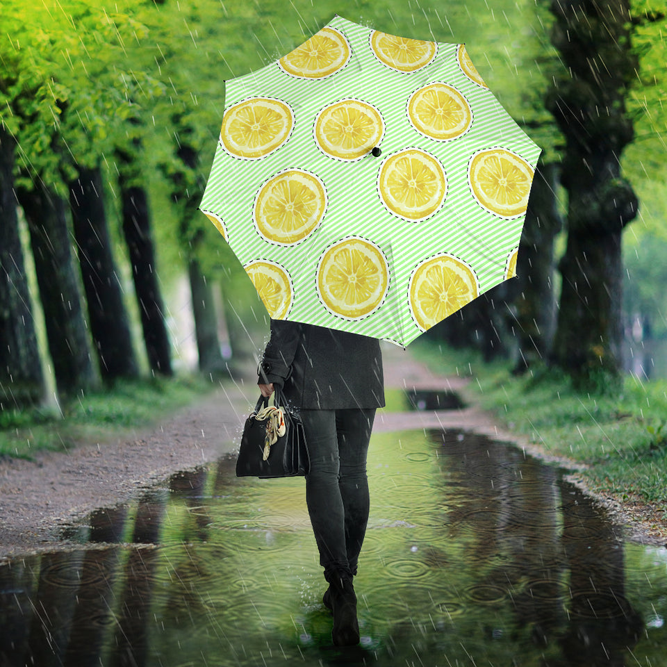 slice of lemon pattern Umbrella