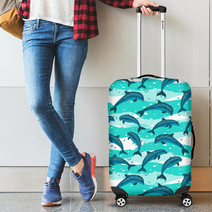 Dolphin sea pattern Luggage Covers