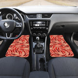 Beautiful Chili Peppers Pattern  Front Car Mats