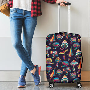 Colorful Mushroom Pattern Luggage Covers